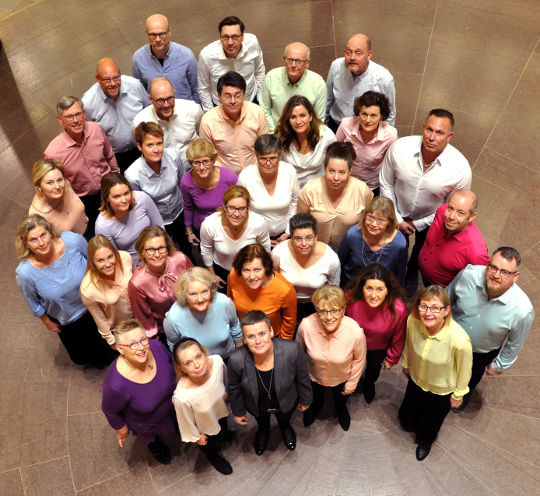 The Chorus Pictor Choir - image from above