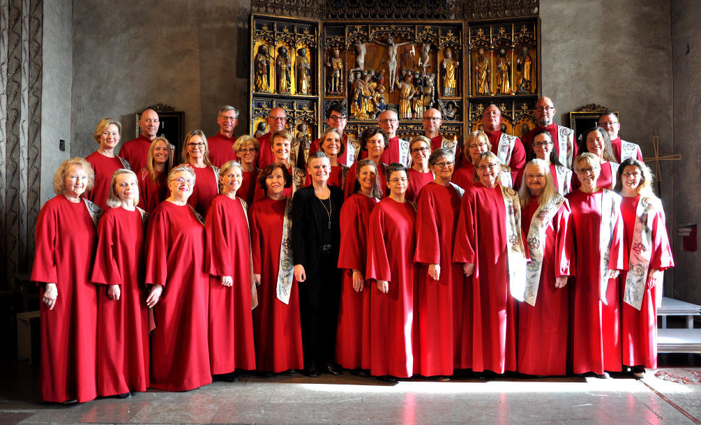 The Chorus Pictor Choir in Täby, Sweden